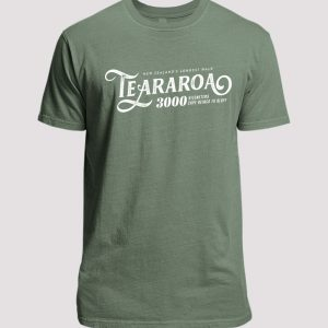 Green Te Araroa 3000km Mens T-Shirt